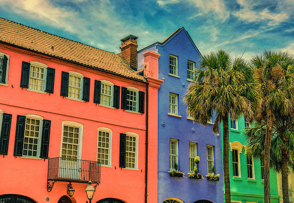Photograph - Rainbow Row Charleston by Dan Sproul