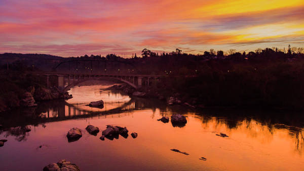 Photograph - Rainbow Sunrise At Rainbow Bridge by Jonathan Hansen