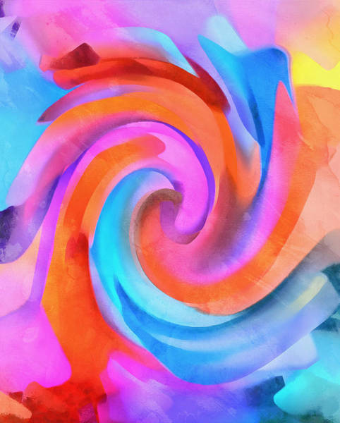 Painting - Rainbow Wave by Dan Sproul