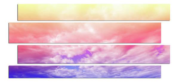 Photograph - Rainbow Zig Zag by Angie Tirado