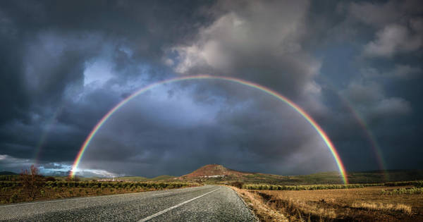 Photograph - Rainbows And The Road by Suleyman Derekoy
