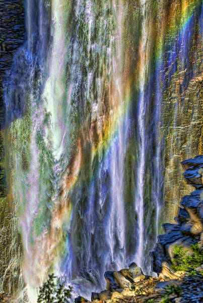 Camera Raw Photograph - Rainbow's Downpour by Brenton Cooper