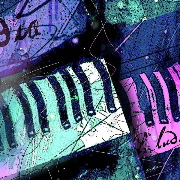 Wall Art - Digital Art - Raindrop Prelude Cropped by Gary Bodnar