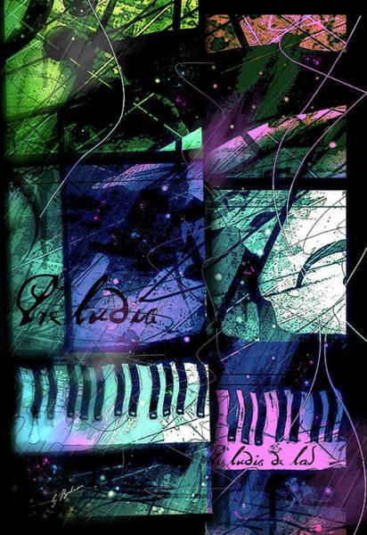 Wall Art - Digital Art - Raindrop Prelude by Gary Bodnar