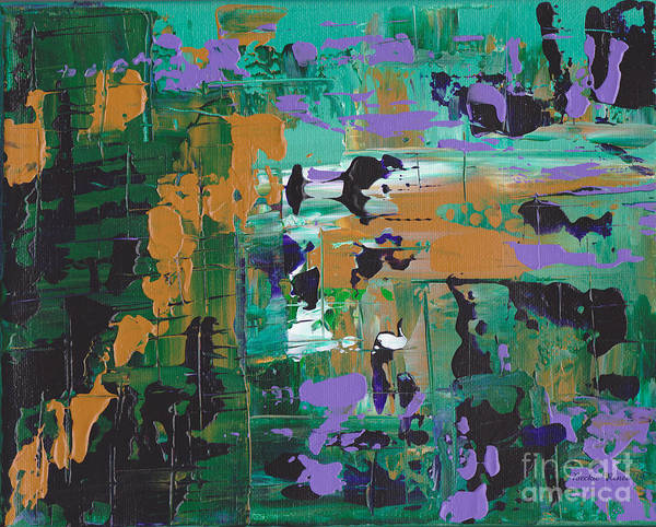 Wall Art - Painting - Rainforest Abstract by Beckie Renee