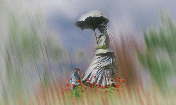 Wall Art - Photograph - Raining In The Garden by Bill Cannon