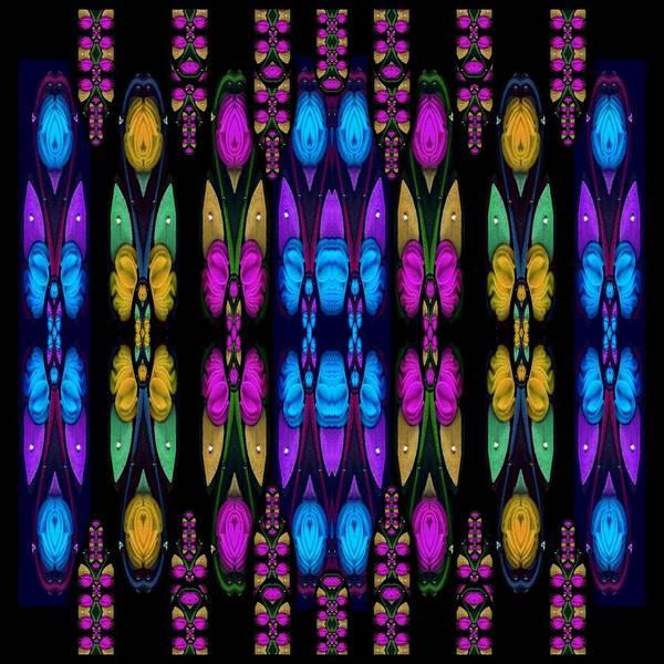 Lotus Mixed Media - Raining Roses And Lotus Flowers by Pepita Selles