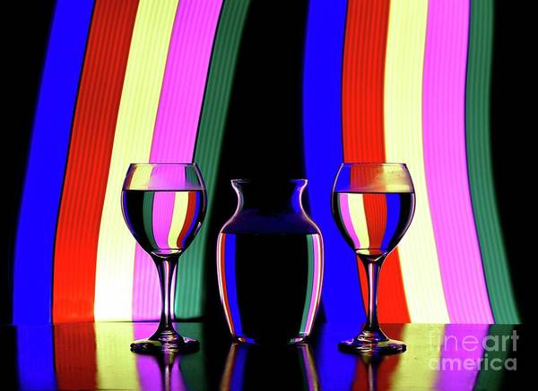 Wall Art - Photograph - Raining Stripes by Arnie Goldstein
