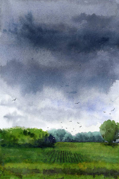 Painting - Rains Coming by James Faecke