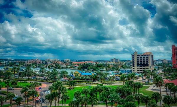 Wall Art - Photograph - Rainstorm Heading Toward Clearwater Beach by Pixabay