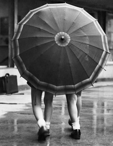 Photograph - Rainy Day by Fox Photos