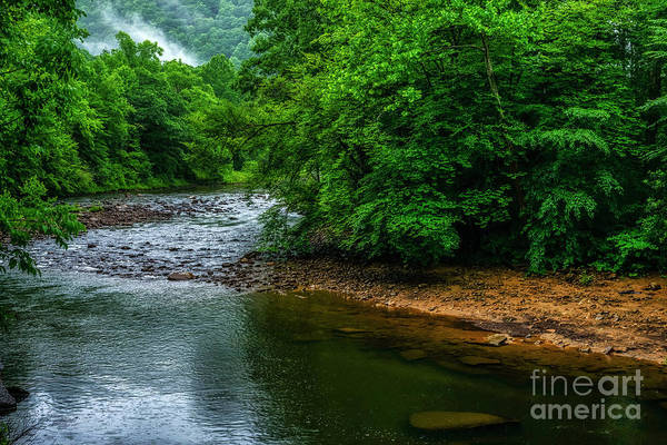 Photograph - Rainy Day Williams River  by Thomas R Fletcher