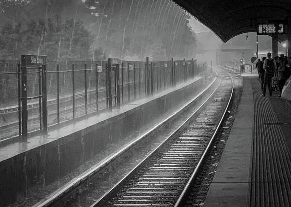 Photograph - Rainy Days And Metro by Lora J Wilson