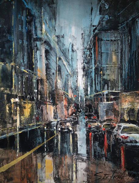 Painting - Rainy Expression by Stefano Popovski