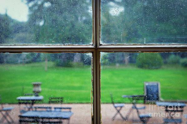 Wall Art - Photograph - Rainy Garden View by Tom Gowanlock