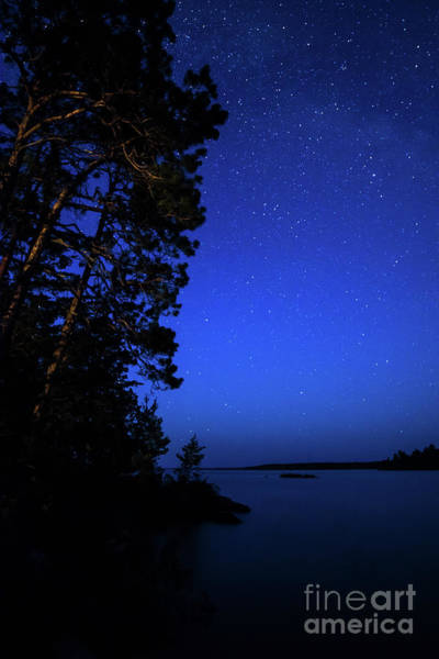 Photograph - Rainy Lake Night by Lori Dobbs