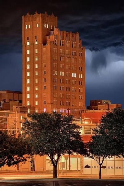Photograph - Rainy Night In Abilene by JC Findley