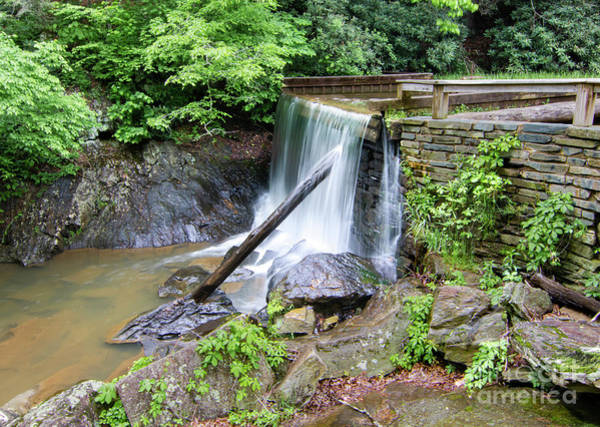Wall Art - Photograph - Rakes Mill Pond Waterfall by Norma Brandsberg