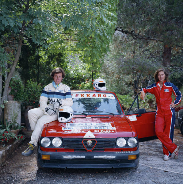 1980 1989 Photograph - Rallying Aristocracy by Slim Aarons
