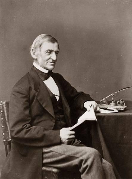 Publication Photograph - Ralph Waldo Emerson by Otto Herschan Collection
