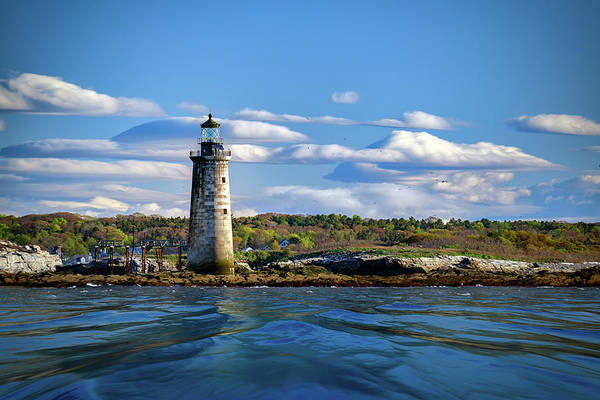 Wall Art - Photograph - Ram Island Ledge Light On A Spring Morning by Rick Berk