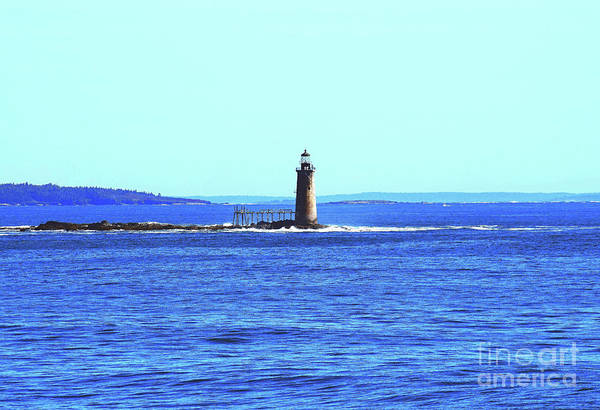 Photograph - Ram Island Ledge Light Station by Patti Whitten