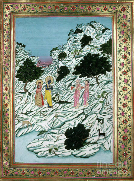 Wall Art - Painting - Ramayana by Granger