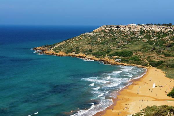 Gozo Wall Art - Photograph - Ramla Bay , Gozo, Malta, Mediterranean by Nico Tondini