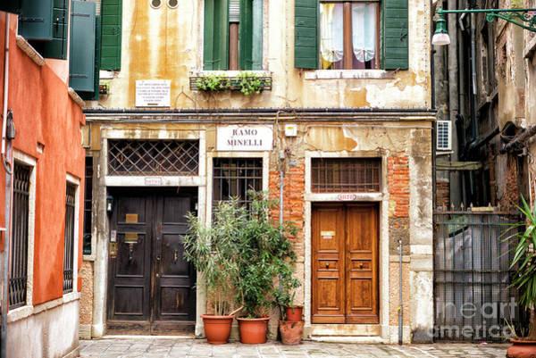 Photograph - Ramo Minelli Venice by John Rizzuto