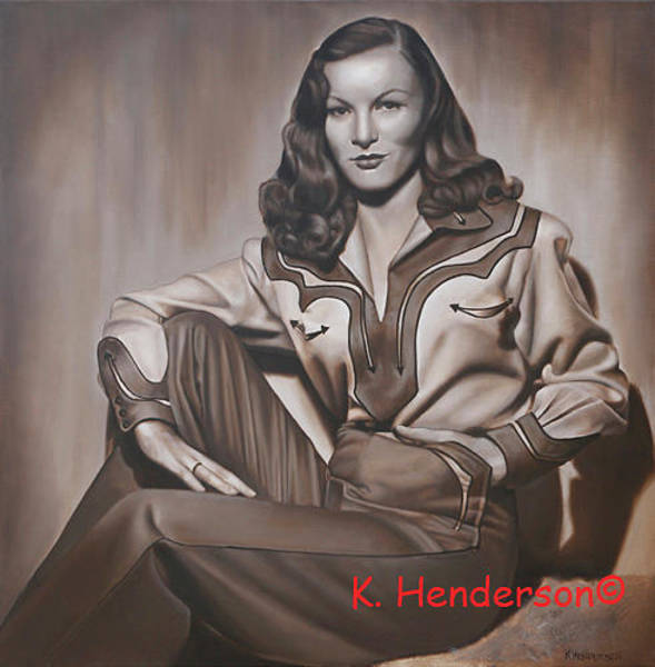 Wall Art - Painting -  Ramrod By K Henderson by K Henderson