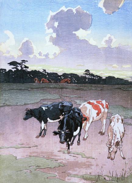 Wall Art - Painting - Ranch Afternoon - Digital Remastered Edition by Yoshida Hiroshi