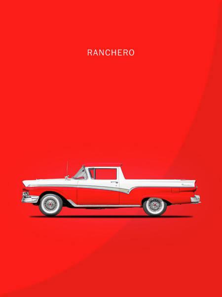 1957 Wall Art - Photograph - Ranchero 57 by Mark Rogan