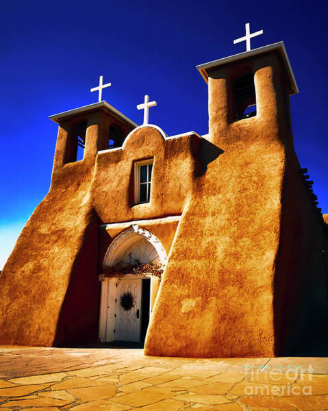 Photograph - Ranchos Church  Xxxii by Charles Muhle