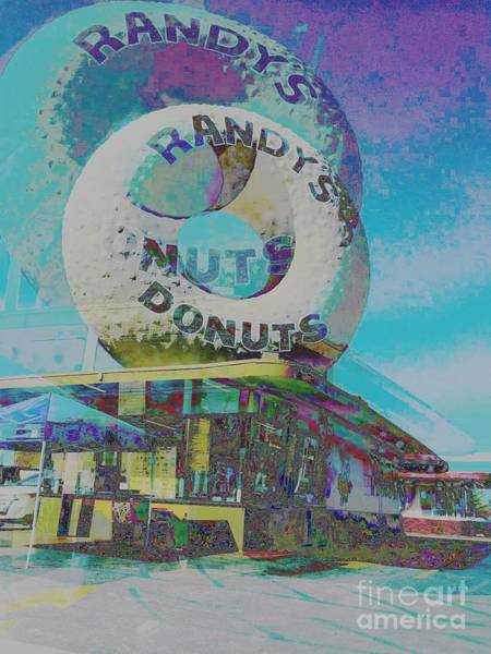 Photograph - Randy's Donuts by Jenny Revitz Soper