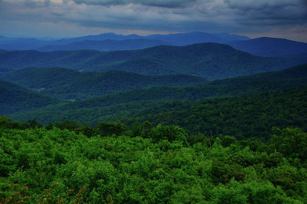 Photograph - Range View Of Blue Ridges by Raymond Salani III