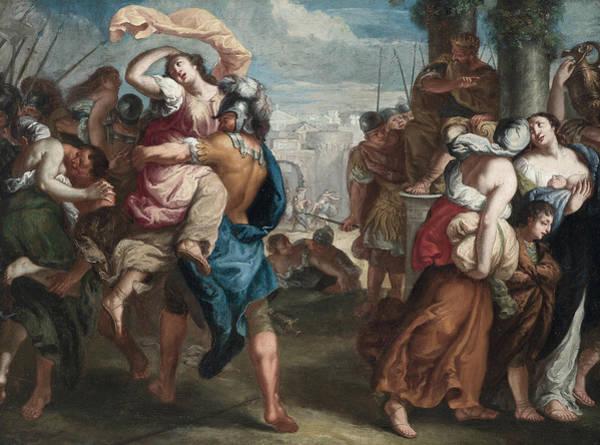 Painting - Rape Of The Sabine Women by Theodoor van Thulden