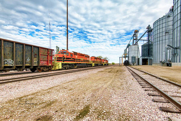 Photograph - Rapid City And Pierre Central Railroad 2 by Jim Thompson