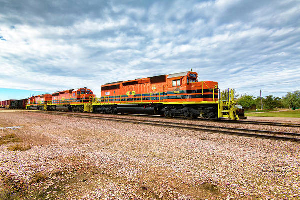 Photograph - Rapid City And Pierre Central Railroad by Jim Thompson