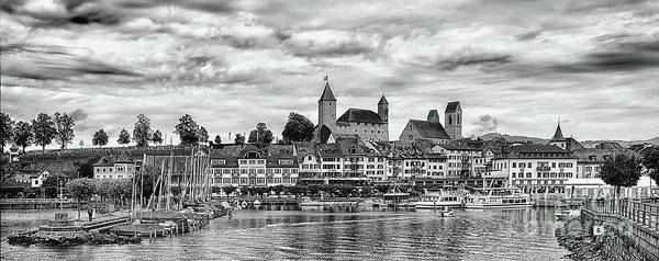 Wall Art - Photograph - Rapperswil Castle Panorama by DiFigiano Photography