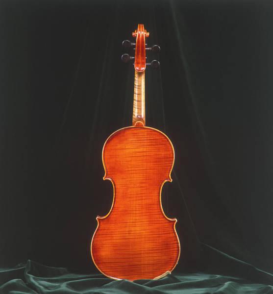 Craftsperson Photograph - Rare Pietro Scarabotto Violin by Martin Fox
