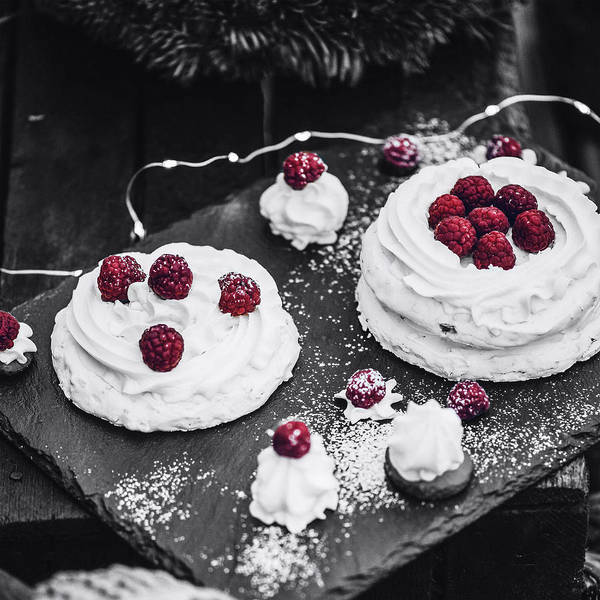 Photograph - Raspberry Pastry by Susan Maxwell Schmidt
