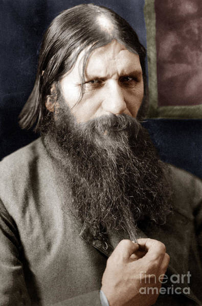 Wall Art - Photograph - Rasputin by Russian School
