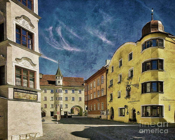 Digital Art - Rattenberg In Tyrol by Edmund Nagele