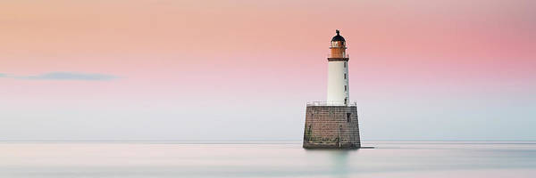 Photograph - Rattray Lighthouse Sunset- Scotland by Grant Glendinning