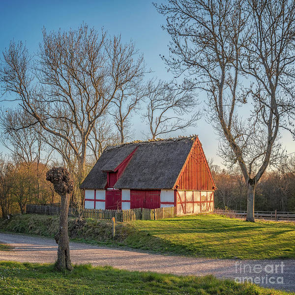 Wall Art - Photograph - Raus Church Grounds by Antony McAulay