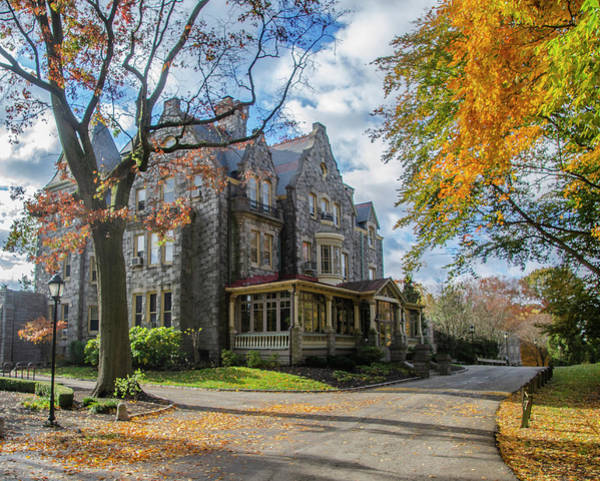 Wall Art - Photograph - Raven Hill Mansion In Autumn by Bill Cannon