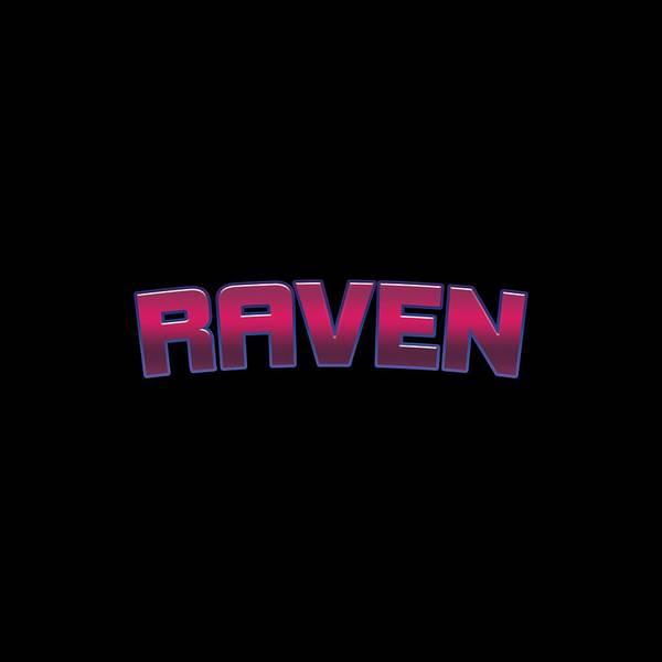 Raven Digital Art - Raven #raven by TintoDesigns