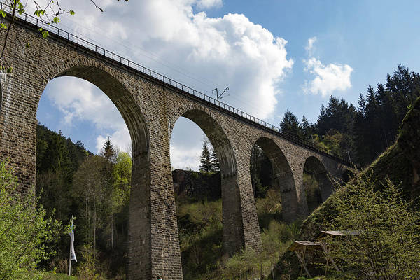 Wall Art - Photograph - Ravenna Gorge Viaduct 01 by Teresa Mucha
