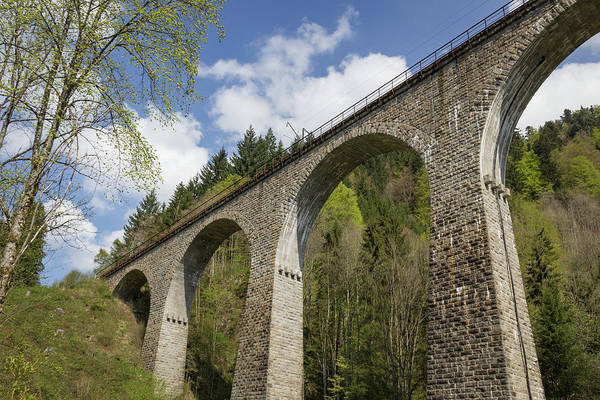Wall Art - Photograph - Ravenna Gorge Viaduct 03 by Teresa Mucha