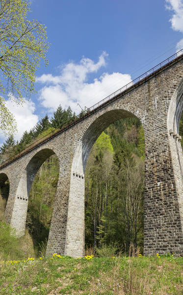 Wall Art - Photograph - Ravenna Gorge Viaduct 04 by Teresa Mucha